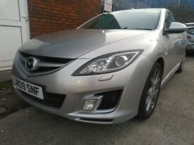 2009 Mazda 6 5Dr Hatchback 2.2 D DPF Sport FULLY LOADED FULL SERVICE HISTORY PRIVACY GLASS 12M MOT