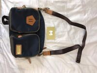 MSPC Master Piece CUBE Navy shoulder bag Men Japan made