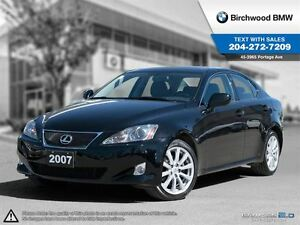 2007 Lexus IS 250 4dr Sdn Auto AWD Local One Owner Clean Car Pro