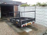 trailer, needs attention but good running gear and frame