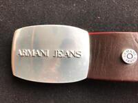 Genuine Armani jeans gents belt