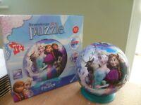 Frozen - 3D Puzzle Ball - 72pc Jigsaw Puzzle