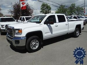 2016 Sierra 3500HD SLE - Diesel - Crew - 8ft Long Box - 19,421KM