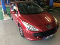 2006 PEUGEOT 307 S 1.6HDI RED