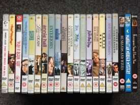 Woody Allen films - 21 DVDs - collection only