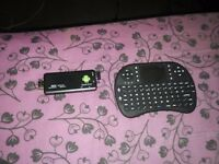 ANDROID STICK WITH WIRELESS KEYBOARD/AIR MOUSE