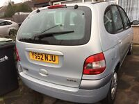 Renault Scenic MPV. 1.6. MOT. One owner since new. Twin Electric Sunroofs. Excellent condition.
