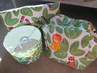 Jungle Animal Lightshade & accessories