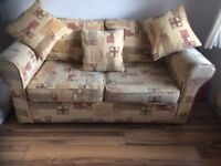2 Seater Sofa Bed, Suitable for spareroom, tv room, sunroom, conservatory, den, bedroom etc.