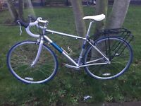 "Pinnacle Gabbro 2 Womens Road Bike 45 Cm 5.3""- 5ft7"" Immaculate Condition Fitted With Pannier Rack"