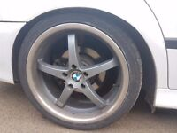 """BMW wheels 19"""" with tyres"""