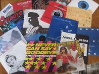 Selection of LPs and singles