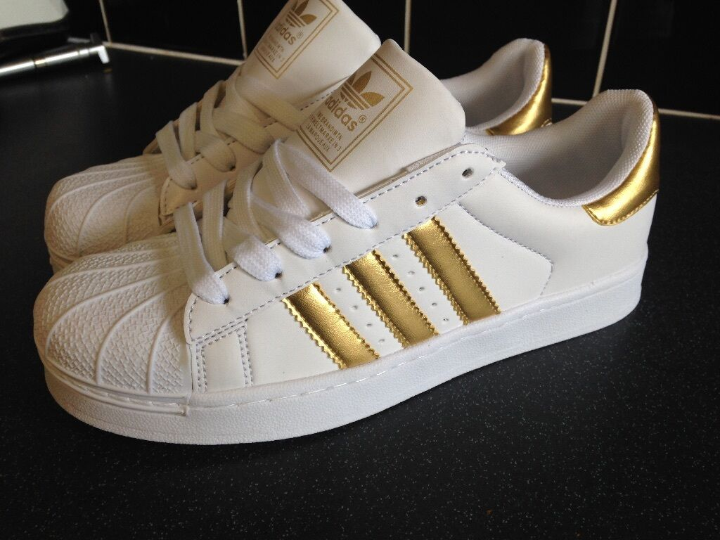 Adidas All Star Gold Stripes