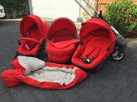 Stokke Crusi 3-in-1 Stroller Red 2013/2014
