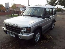 2003 LAND ROVER DISCOVERY TD5 GS AUTO CRUISE CONTROL HIGH SPEC FULLY UPGRADED
