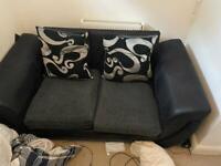 Dark green 2 seat sofa