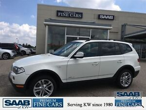 2010 BMW X3 3.0i AWD No accidents Pano roof Rare executive whi Kitchener / Waterloo Kitchener Area image 1