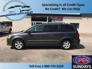 2015 Dodge Grand Caravan CREW,AC,CRUISE,LEATHER,DVD