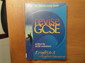 GCSE English and English Literature ultimate study guide by Letts.