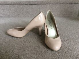 Ladies Nude size 5 shoes from New Look