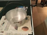 Maslin pan for jam and marmalade making