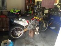 2006 CRF450R Geiko Race Model