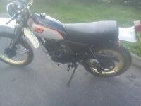 Yamaha XT250 new mot very low mileage 2 owners garage dry stored 18 years