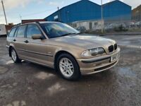 BMW AUTOMATIC TOURING,VERY GOOD CONDITION, WARRANTED MILEAGE,ENGINE AND GEARBOX RUNNING VERY SMOOTH