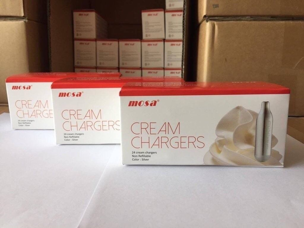 Mosa Cream Chargers - Retail and Wholesale