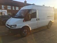 Ford transit 2.4 turbo diesel long mot