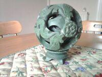 Chinese jade puzzle ball