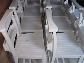 CHAPEL CHAIRS WITH BOOK HOLDERS. £25 ea. Delivery possible. DIFFERENT CHURCH CHAIRS ALSO FOR SALE.
