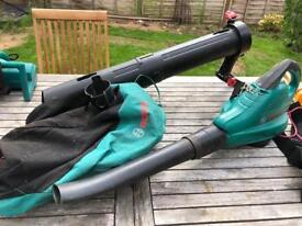 Bosch Leaf Blower and Vacuum
