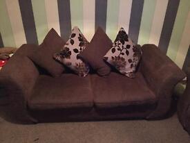2&3 fabric sofa