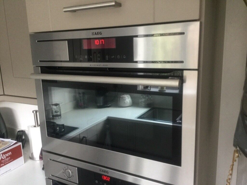 AEG integrated microwave combination oven (KR8403001) | in