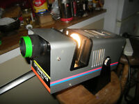 rare optikinetics solar 250 projector high quality,great condition with spare new bulb
