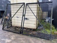 13 Foot by 8 foot security gates