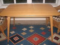 Dining Table - wood veneer