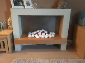 NEXT Electric Fireplace