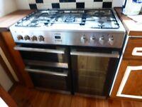 90cm Mixed fuel cooker/range/ farmhouse