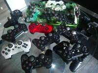 Play station 3 controllers and parts