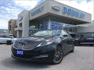 2013 Lincoln MKZ 17KM'S|LOADED|NAVIGATION|SUNROOF|AWD|WARRANTY