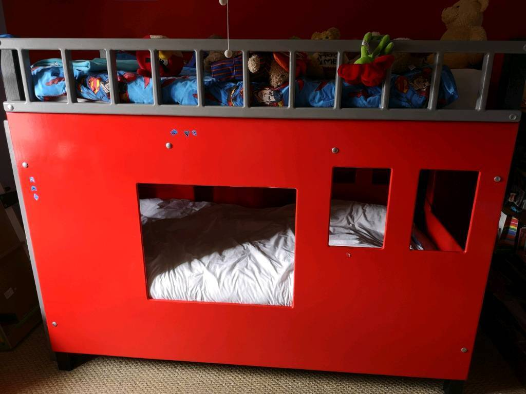 Fire Engine Bunk Bed Very Sturdy Hand Made Bunkbed In Moira