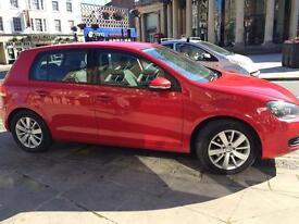 VW GOLF 2011 RED 1.6