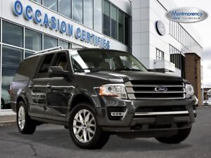 2017 Ford Expedition Max Limited 4X4 MARCHEPIED ÉLECTRIQU