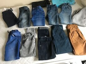 Boys age 4-5 jeans, chinos & joggers