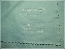 MEGA Clean Professional Glastuch Detail