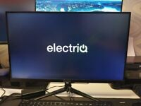 """Monitor Electriq 27"""" QHD 1440p 95Hz FreeSync HDR Monitor in immaculate condition"""