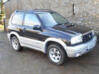 2004 Suzuki Grand Vitara 2.0TD SE 3dr Diesel 4x4 Only 72,000 miles!