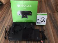 Xbox One 1TB - Boxed, Controller, Power Cable, HDMI & Headset; Fantastic Condition